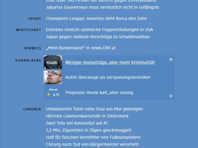 """""""Mein Bundesland"""" Start"""