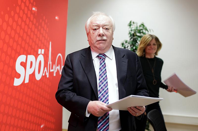 Bürgermeister Michael Häupl und Landesparteisekretärin Sybille Straubinger