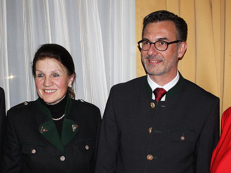 Charlotte Klement und Roman Leitner