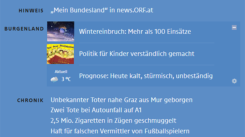 news.ORF.at