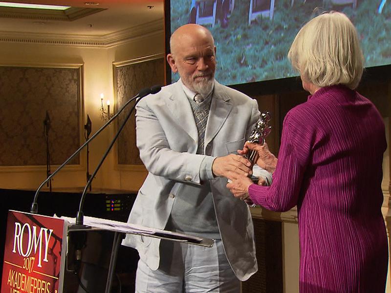 Romy-Akademiepreise: Verleihung mit Hollywood-Star John Malkovich