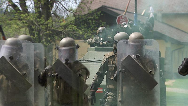 Jägerbataillon 25 NATO Reserve Kosovo Kommando
