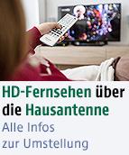 HD Umstellung DVB-T