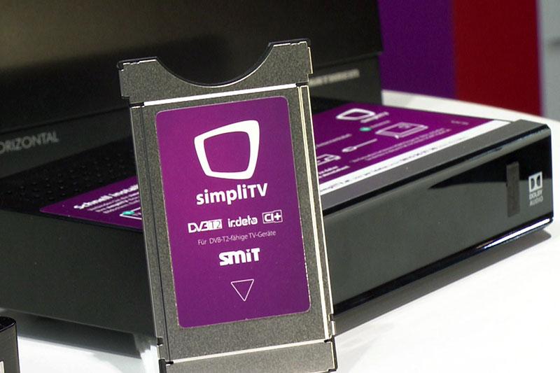 Simpli TV Modul und Simpli TV Box