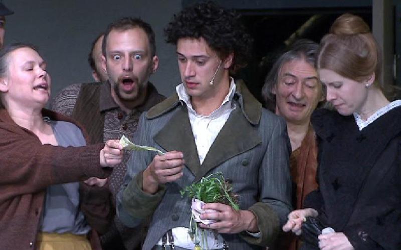 Talisman Nestroy Premiere Schauspielhaus