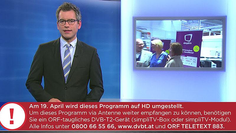 HD-Umstellung Südburgenland