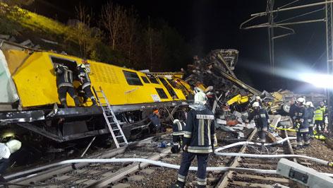 Entgleisung auf Brennerbahnstrecke: Zwei Tote bei Zugunglück im Südtirol