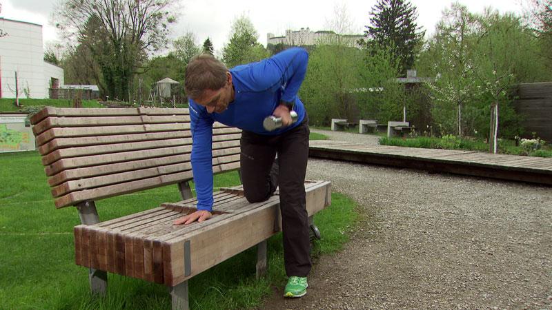 Michael Mayrhofer im Fernsehgarten