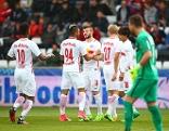 Admira gegen Salzburg im Cup