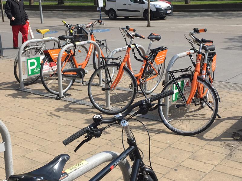 Donkey Republic Fahrräder in Wien
