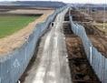 Ungarn fertig grenzzaun