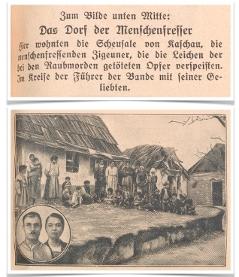 Der Menschenfresser-Prozess von Kaschau | 4. Mai 1929