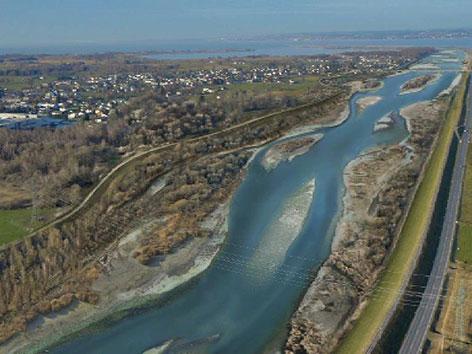 Geschichte der Rheinregulierung