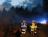 Waldbrand bei Oberwart
