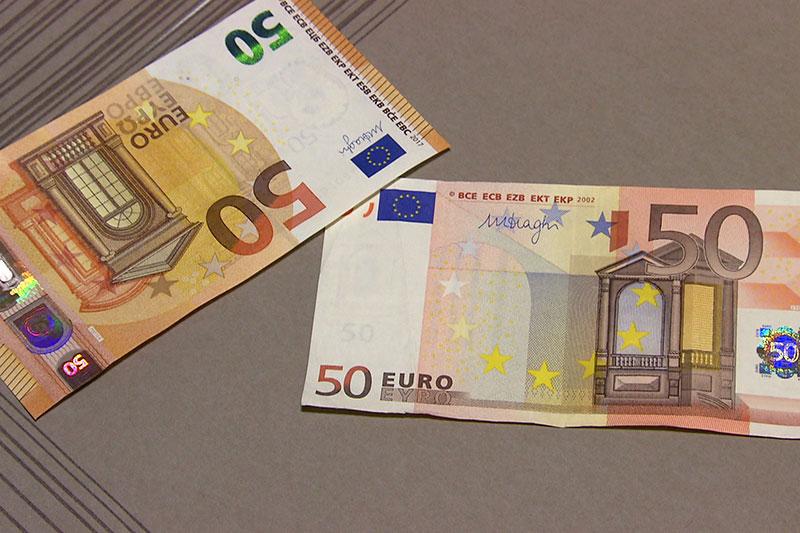 Alter 50 Euro Schein