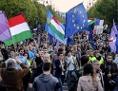 erneut protesten budapest