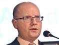 Premiér a předseda strany ČSSD Bohuslav Sobotka