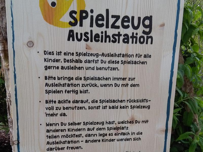 Spielzeug Ausleihstation Graz