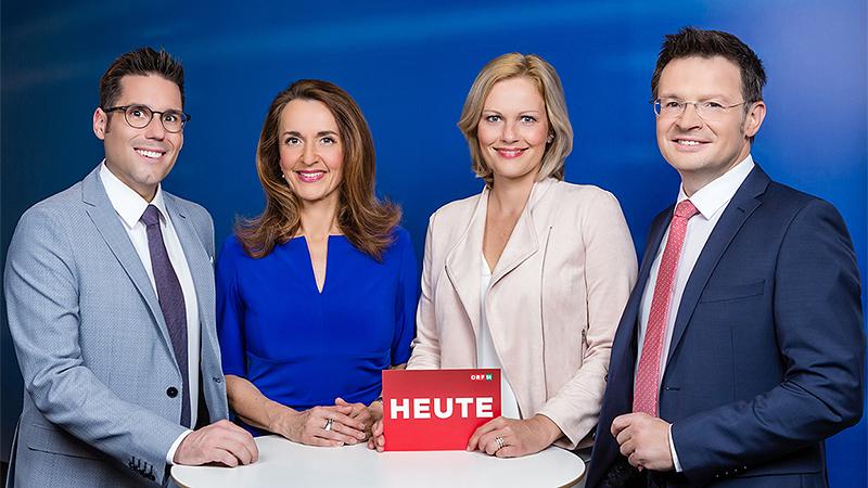 """Das Moderatorenteam von """"Steiermark heute"""""""