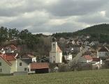 Hollenthon Bezirk Wiener Neustadt Landschaft Ortsblick
