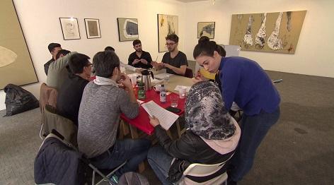 """""""Flucht nach Vorne"""" hilft traumatisierten jungen Flüchtlingen"""
