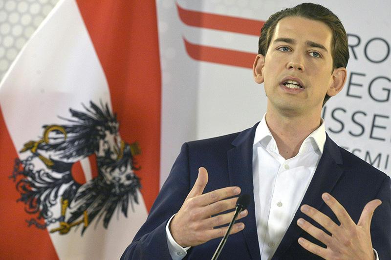 Aussenminister Kurz stellt ÖVP Bedingungen