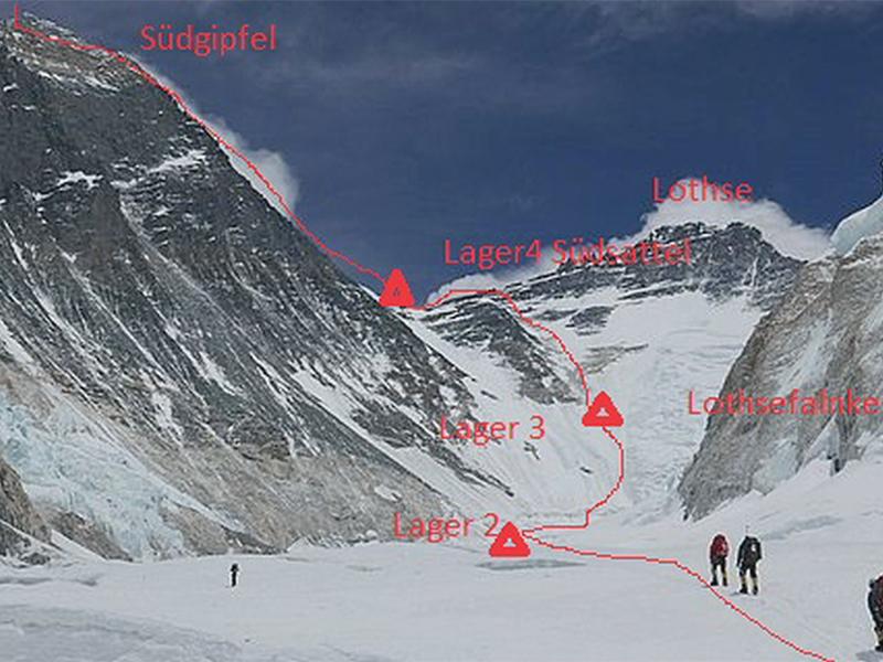 Debatte um Höchstalter für Everest-Besteiger