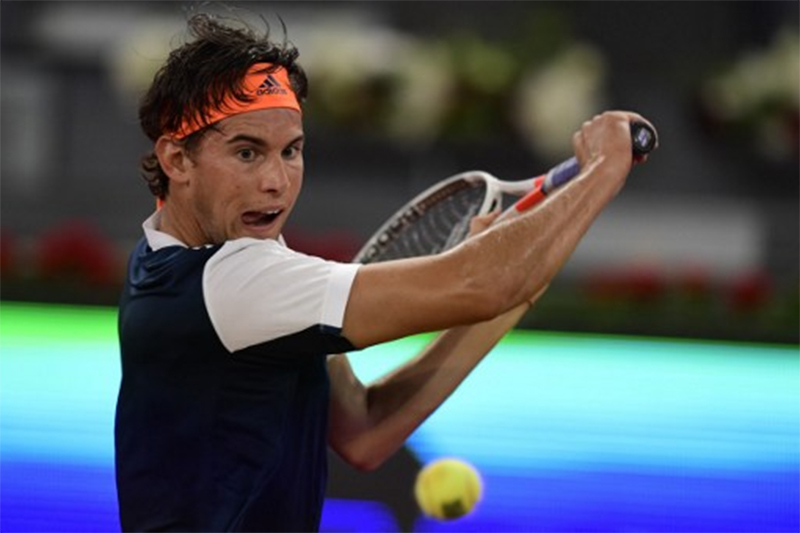 Dominic Thiem Turnier Madrid Viertelfinale