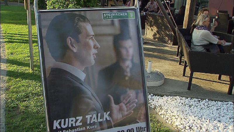 Sebastian Kurz in Feldbach