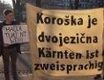 Diskussion über das Slowenische in der neue Kärntner Landesverfassung