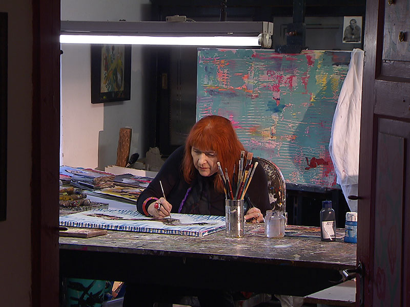 Caroline Bilder Venedig Ausstellungen
