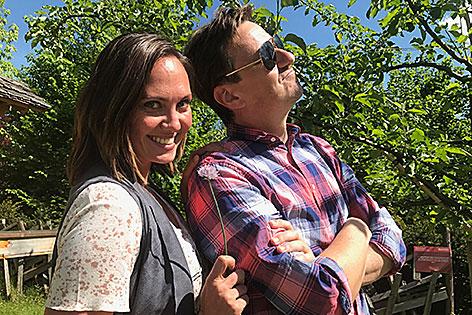 Claudia Schneider und Wolfgang Zanon
