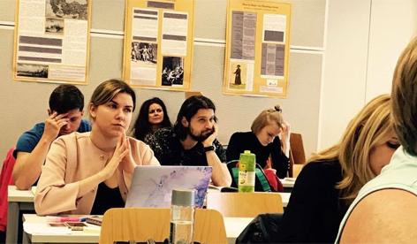 Finnugor tanszék, magyar film, workshop
