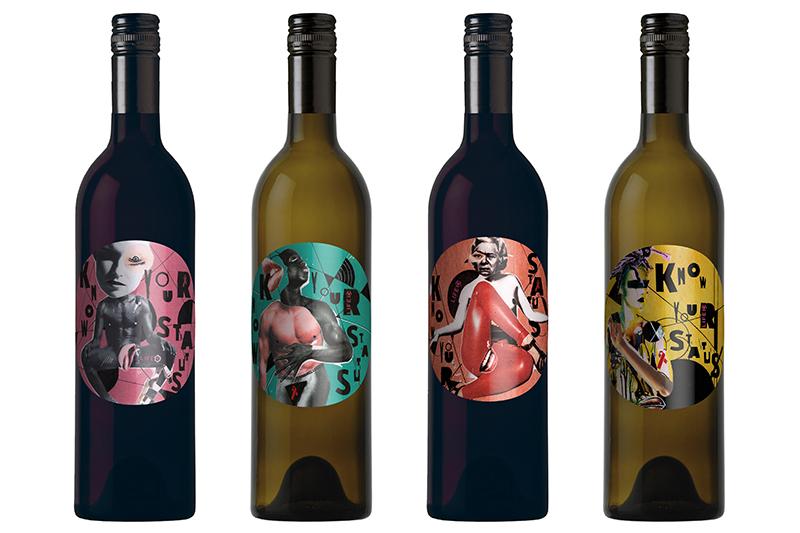 Etiketten für Life Ball Wein 2017