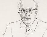 Konrad Klapheck Portrait Werner Hofmann