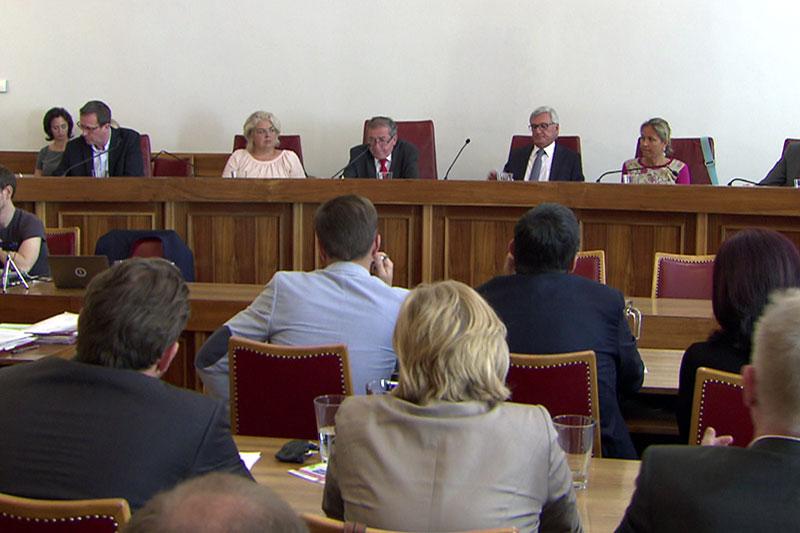 Sitzung des Salzburger Gemeinderates