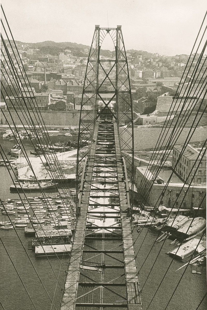 Herbert Bayer, Marseille, Pont Transbordeurs, 1928
