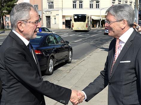 Kaiser Van der Bellen obisk Slovenija