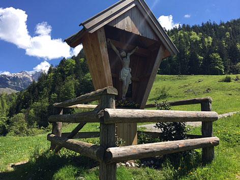 Hoisnkreuz Weißbach bei Lofer