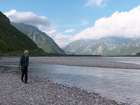 SSC Tagliamento Fluss Friaul