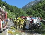Schwerer Verkehrsunfall golling
