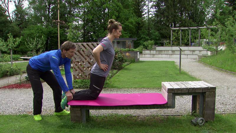 Michael Mayrhofer und Doresia Krings im Fernsehgarten