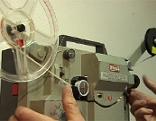 Film Filmprojektor Super 8