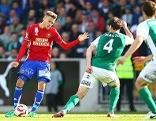"""Traustason (l.) stach in Mattersburg erfolgreich als """"Joker"""""""