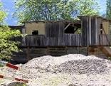 Altes Holzgebäude