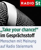 """""""Take your chance!"""" im Gesprächsstoff"""