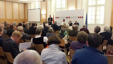 Vortrag von Abt Ambróz Martin Štrbák in der Diplomatischen Akademie
