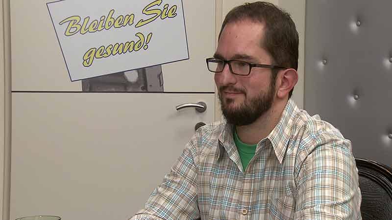 Thomas Binder Aufgezeigt Arbeitssuche Behinderte