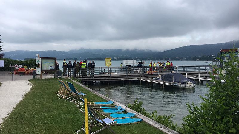 Suche Toter Motorboot Maria Wörth