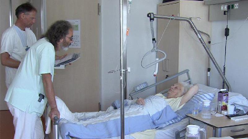 Patient, Krankenhaus, Altenheim, Geriatrie, Sujet